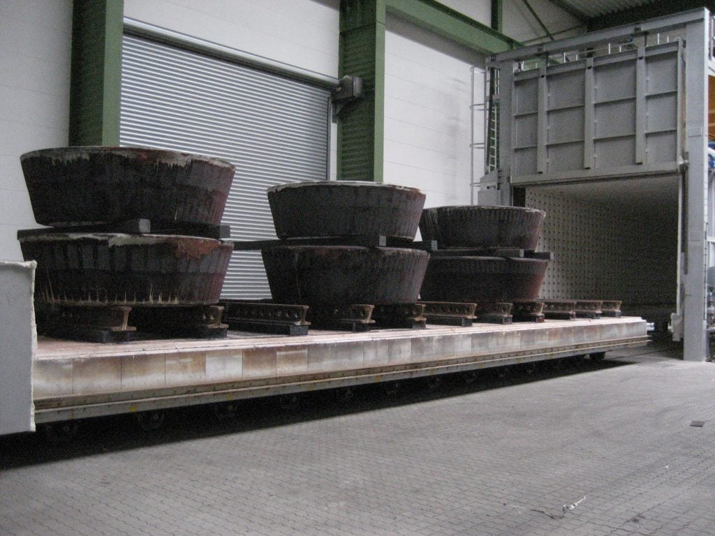 Stahlbehaelter nach Weichglühen